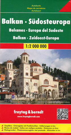 Balkans Map Freytag and Berndt