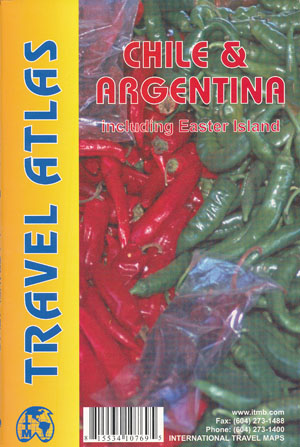 Chile and Argentina Atlas ITMB including Easter Island