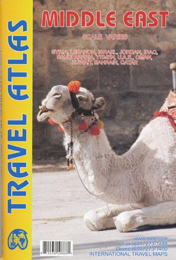 Middle East Travel Atlas ITMB