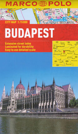 Budapest Map Marco Polo