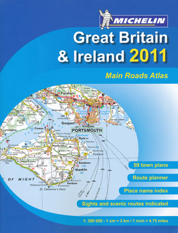 Great Britain and Ireland  Atlas Michelin 2011