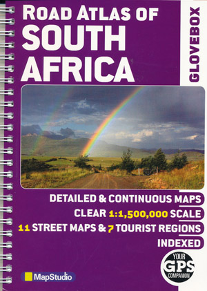 South Africa Road Atlas Glovebox Mapstudio