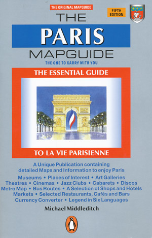 The Paris Map Guide Penguin