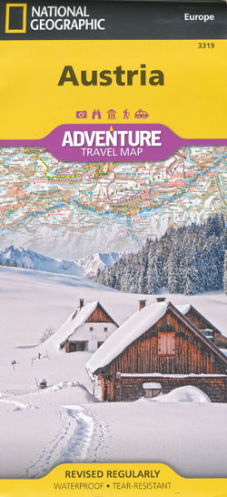 Austria Adventure Travel Map National Geographic