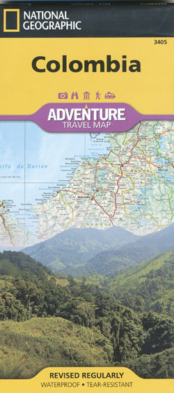 Colombia Map National Geographic