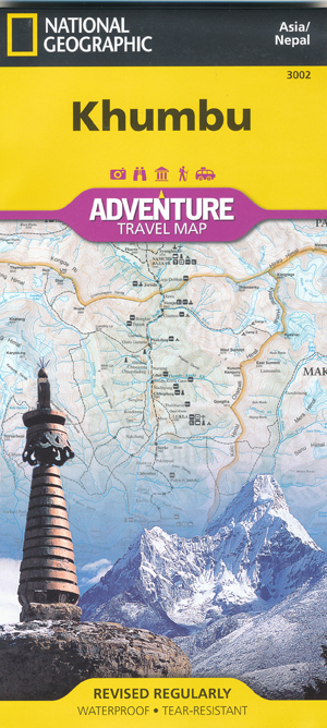 Khumbu Map National Geographic