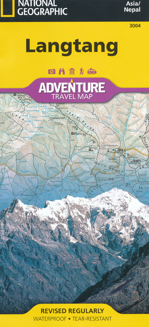 Langtang Map National Geographic