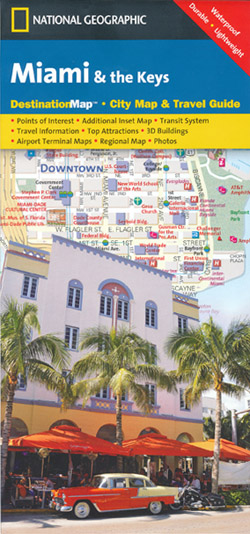 Miami and the Keys Map National Geographic