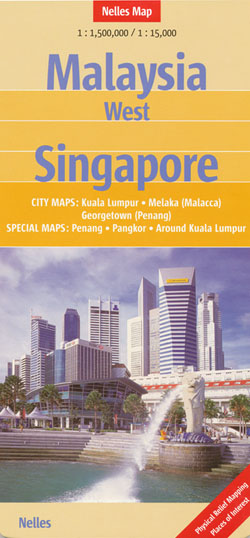 Malaysia West Singapore Map Nelles
