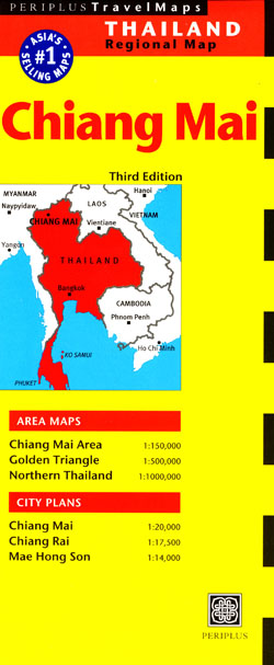 Chaing Mai Map Periplus