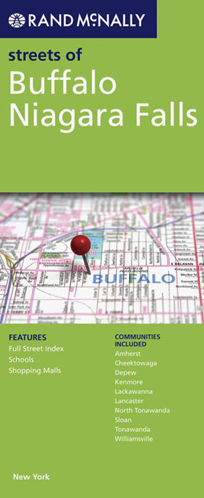 Buffalo Niagara Falls Map Rand McNally