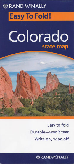 Colorado Easy to Fold Map Rand NcNally