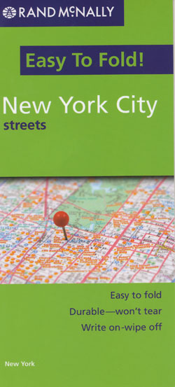 New York City Map Rand McNally