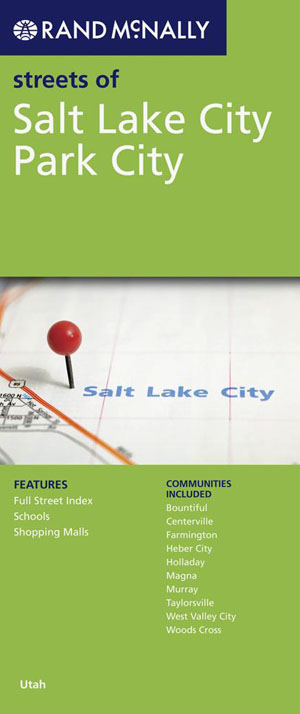 Salt Lake City Map Rand McNally