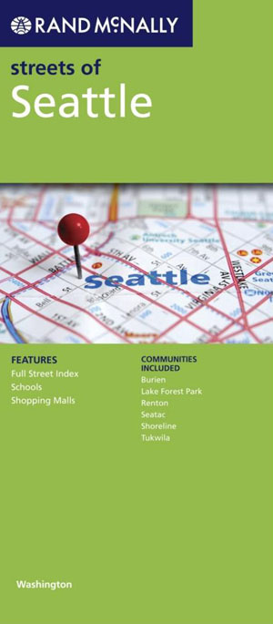 Seattle City Map Rand McNally
