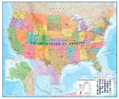 USA Maps International Paper