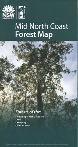 Mid Coast Forests Map NSW