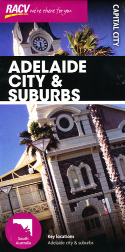 Adelaide City and Suburbs Map RACV