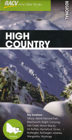 High Country Map RACV