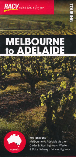 Melbourne to Adelaide Map RACV