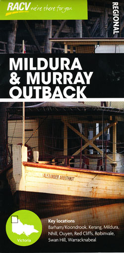 Mildura and Murray Outback Map RACV
