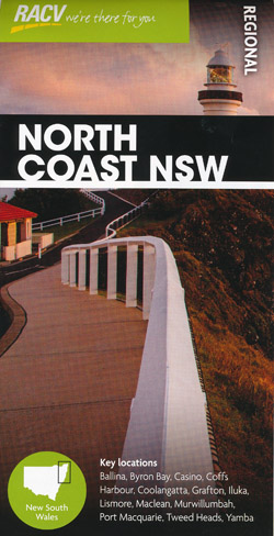 North Coast NSW Map RACV