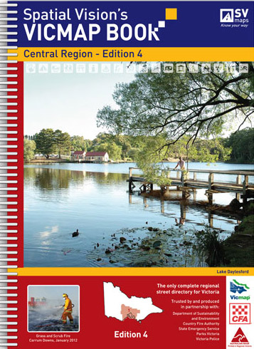 Vicmap Book Central Region Spatial Vision