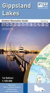 Gippsland Lakes Outdoor Recreation Map Spatial Vision