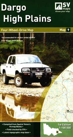 Dargo High Plains 4WD Map 9 Spatial Vision