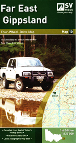 Far East Gippsland 4WD Map 10 Spatial Vision