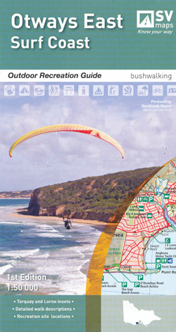 Otways East Surf Coast Map Spatial Vision