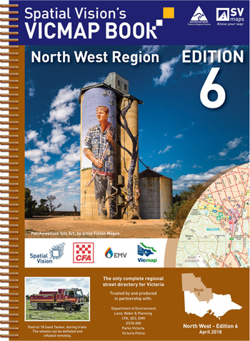 Vicmap North West Region Map Book Spatial Vision