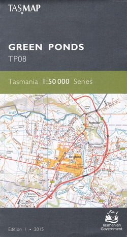 Green Ponds 1-50,000 Tasmap