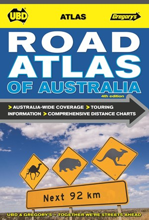 Road Atlas of Australia UBD Gregory's