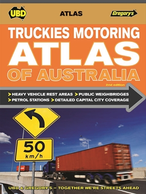 Truckies Motoring Atlas of Australia UBD
