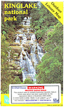 Kinglake National Park Map ODL