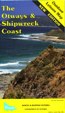 Otway and Shipwreck Coast Map ODL