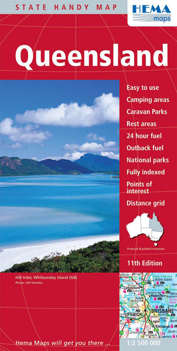 Queensland Handy Map Hema