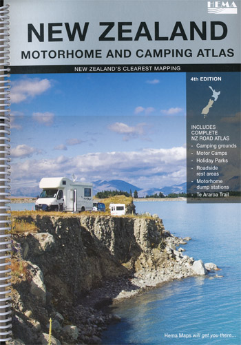 New Zealand Motohome and Camping Atlas Edition 2 Hema