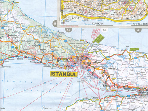 Turkey Map Hema